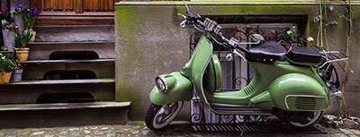 Skuter in motor
