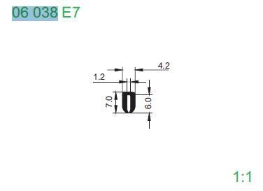 PROFIL 06038 E7