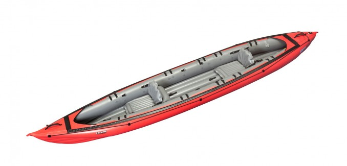 Gumenjak SEAWAVE (rdeč/siv)