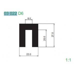 PROFIL 03022 D6 L6000