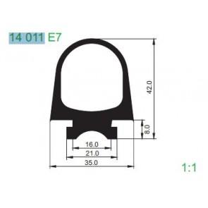 PROFIL 14011 E7 L=2400 MM